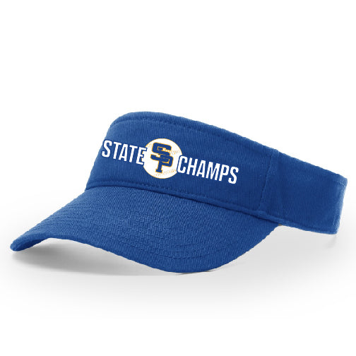 2019 CHAMPS - GARMENT WASHED VISOR