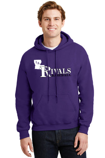 LA Rivals Baseball - ADULT Heavy Blend™ Hooded Sweatshirt (SM 18500)