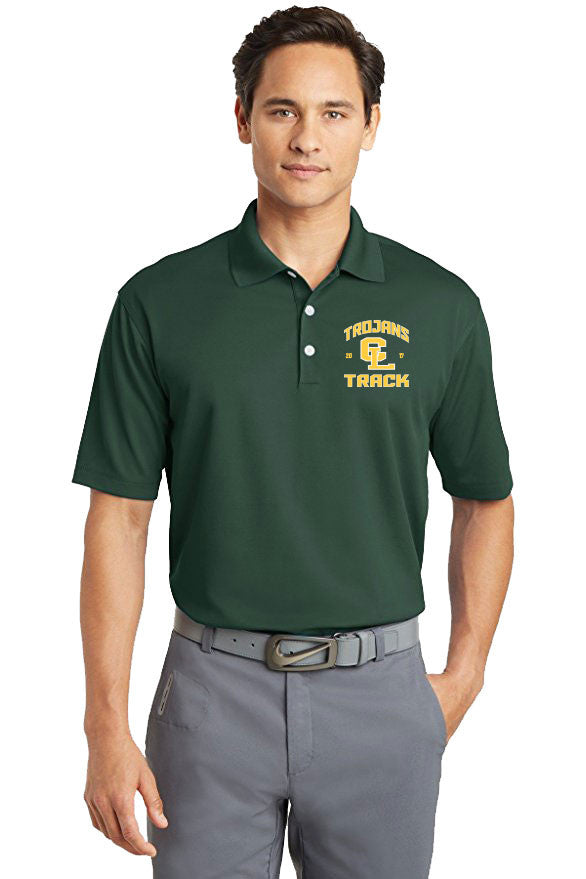 Men's Nike Polo (Forest Green)