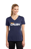 NOLA Crush Baseball - LADIES PERFORMANCE V-NECK TEE