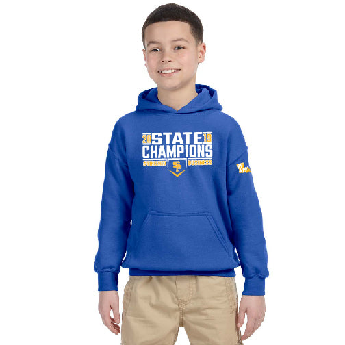 "2019 CHAMPS - ""FINISHED BUSINESS"" YOUTH HEAVY BLEND PULLOVER HOODIE"