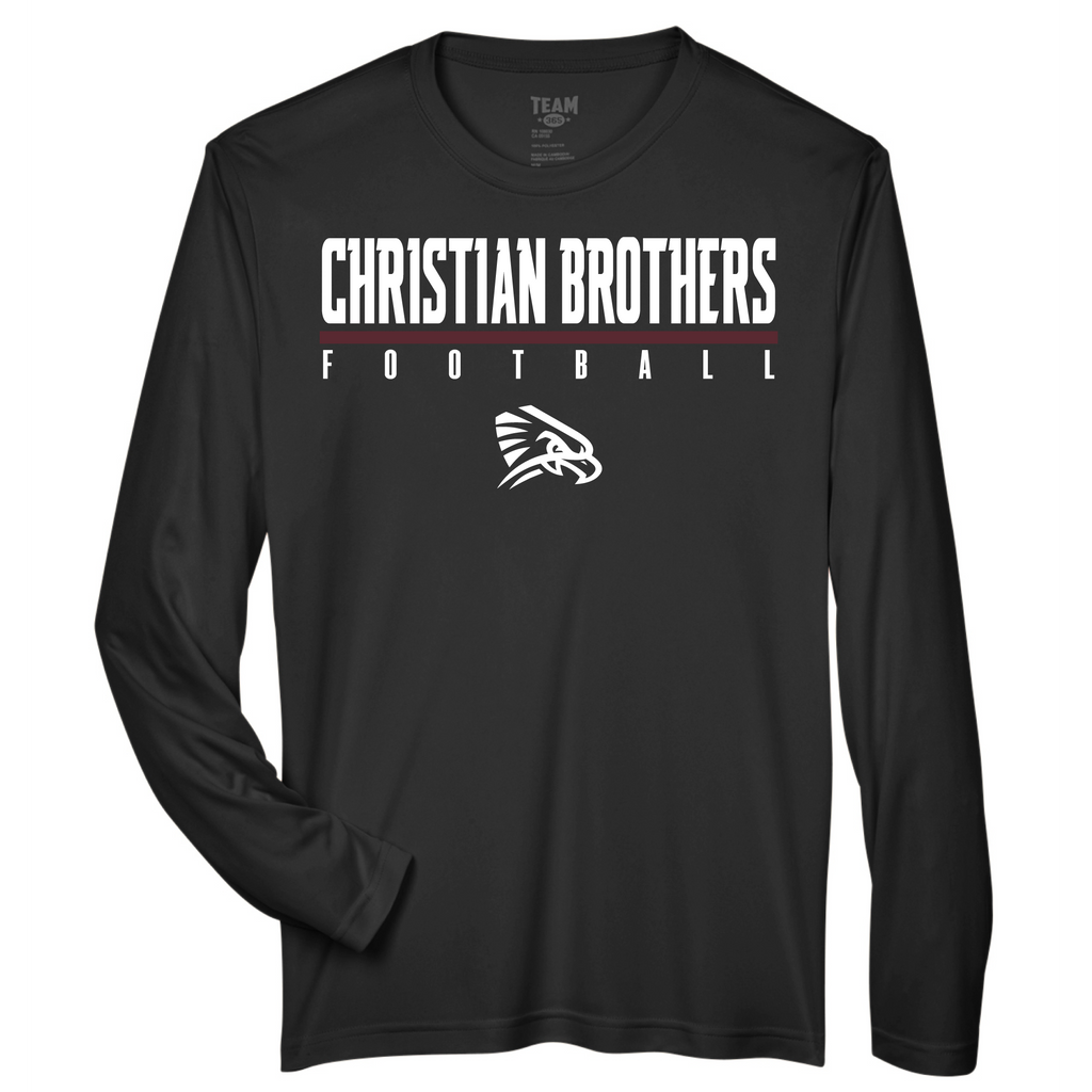 CBS FB - L/S Performance Tee