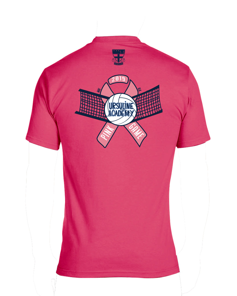 UA PINK - Youth Pink Game S/S Tee