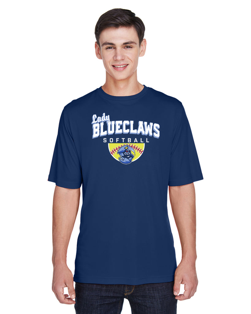 BLUECLAWS SOFTBALL - Team 365 Men's Zone Performance T-Shirt