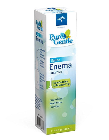 Pure & Gentle Disposable Saline Enema