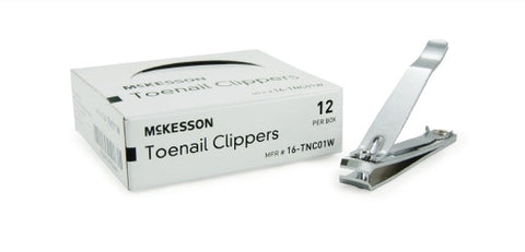 Toenail Clippers Thumb Squeeze Lever