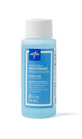 SparkleFresh No Alcohol Mouthwash