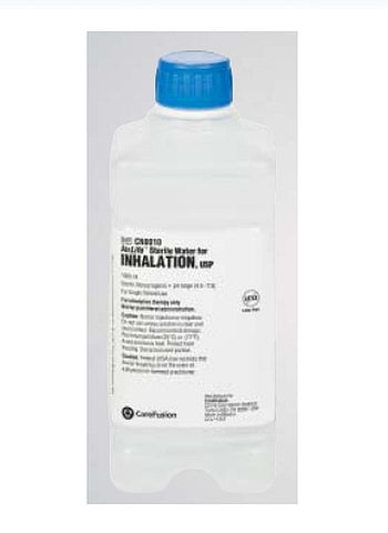 AirLife® Respiratory Therapy Solution Sterile Water Inhalation Solution Bottle 1000 mL