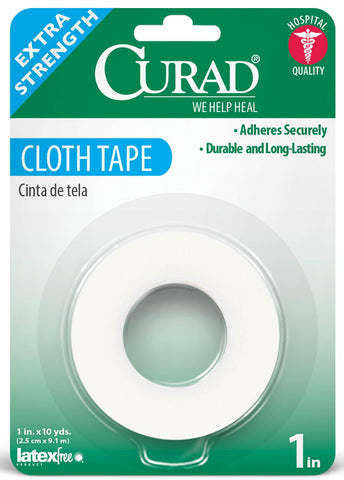 Medical Tape Curad® Skin Friendly Paper 1 Inch X 10 Yards NonSterile