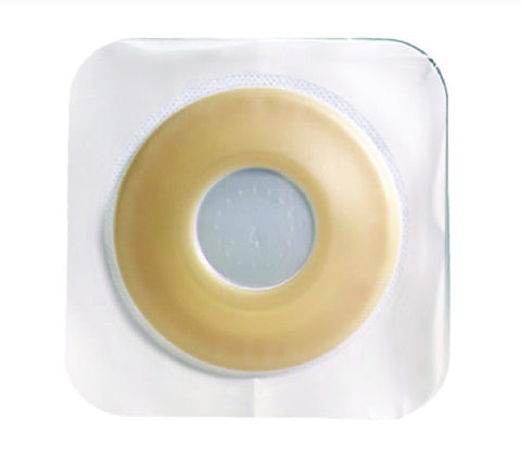 Colostomy Barrier Sur-Fit Natura® Extended Wear Durahesive®, White Tape 1-3/4 Inch Flange Sur-Fit Natura® Hydrocolloid 1-1/8 Inch Stoma