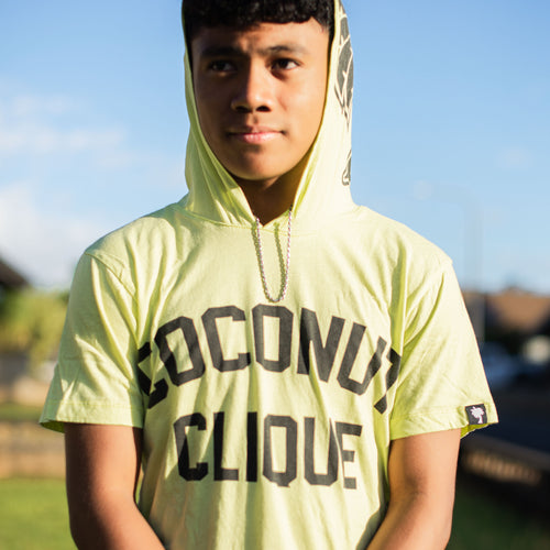 Coconut Clique Hooded Tee