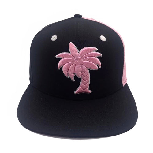 Coconut Tree SnapBack (PINK)
