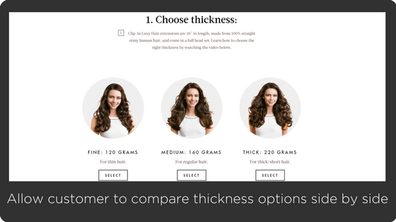 LuxyHair - great experience Shopify site