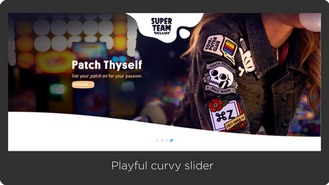 Playful Curvy Slider