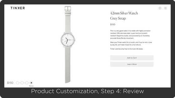 Tinker - Shopify perfect product customization experience