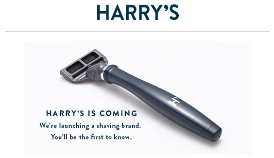 Harry's publicité