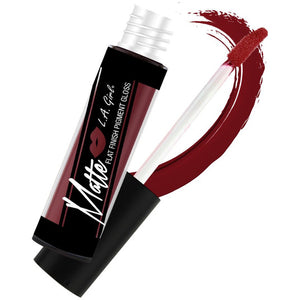 L.A. Girl Matte Flat Finish Pigment Gloss, Secret - Store