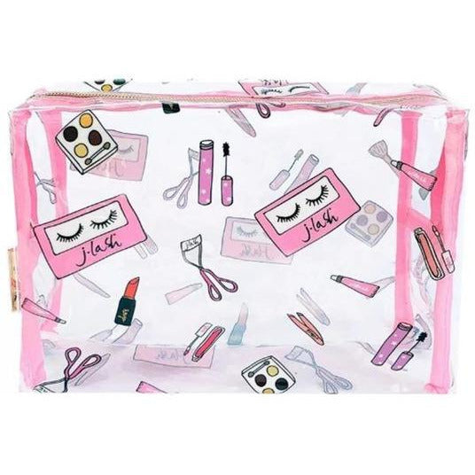 J.Lash Clear Makeup Bag - Store
