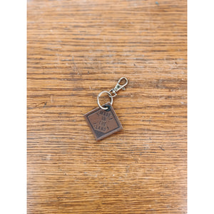 Made in the Land Leather Key Chain