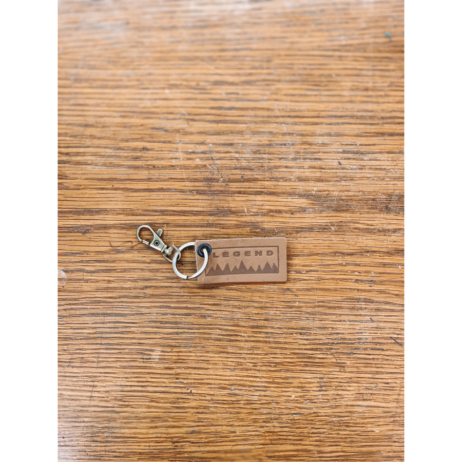 Legend Leather Key Chain