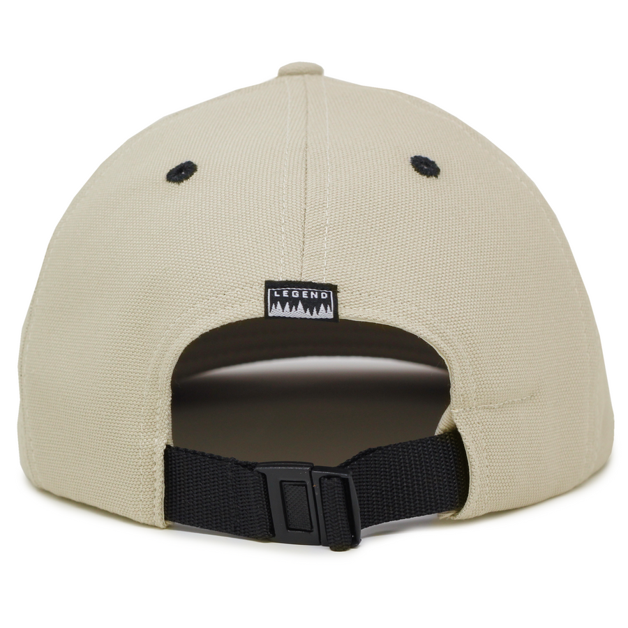Mountains Organic Clipback – 6 Panel