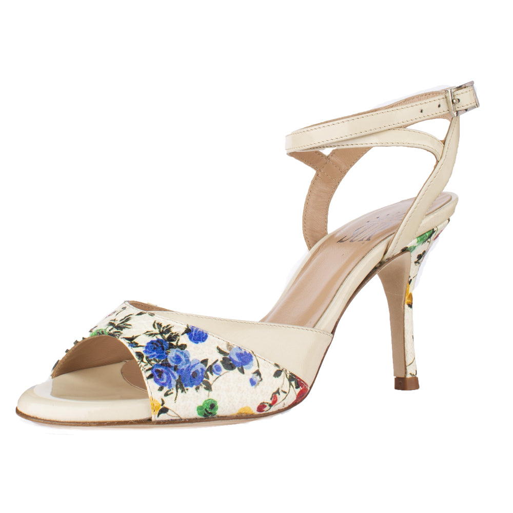 SUR - Yoanna Fiori Multi Cream 7cm (Regular to Wide)