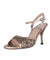 SUR - Minnie Bronze Rheinstones 7cm heel (Narrow)
