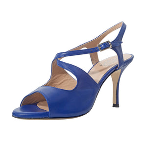 SUR - Dita French Blue 7cm heel (Wide)