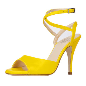 Grace Nappa Giallo 9cm (Regular to Narrow)