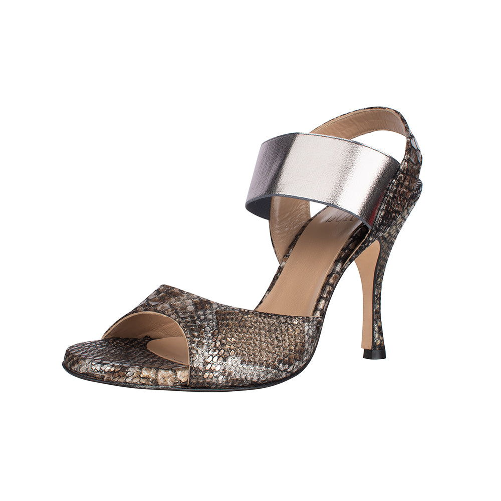 Malaguena Python Print 8cm (Regular to Wide)