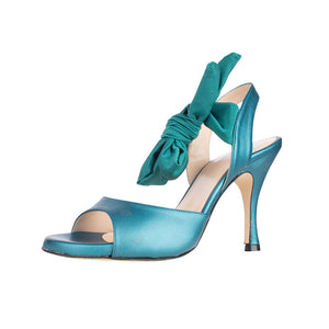 Paloma Teal 8cm (Regular to Wide)