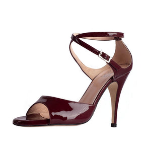 Anais Vernice Bordo 9cm (Regular to Narrow)