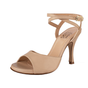 Grace Nappa Nude 8cm (Regular to Wide)