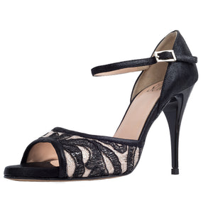 Odette Pizzo Nero 9cm (Regular to Narrow)