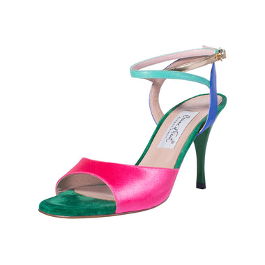 Comme il Faut Tango Shoes - Multicolor 8cm