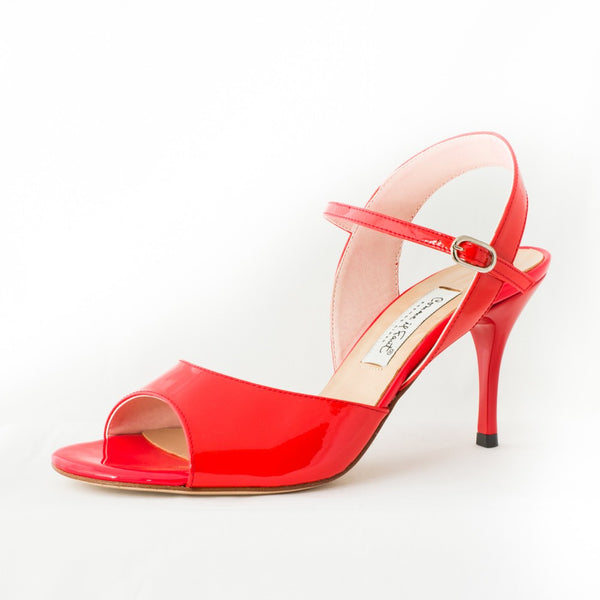 Comme il Faut Shoes - Charol Red