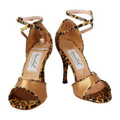 Comme il Faut Shoes Bronze y Cheetah