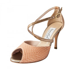 Comme i faut shoes copper and flesh