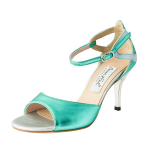 Exclusive Comme il Faut Tango Shoes - Turquesa