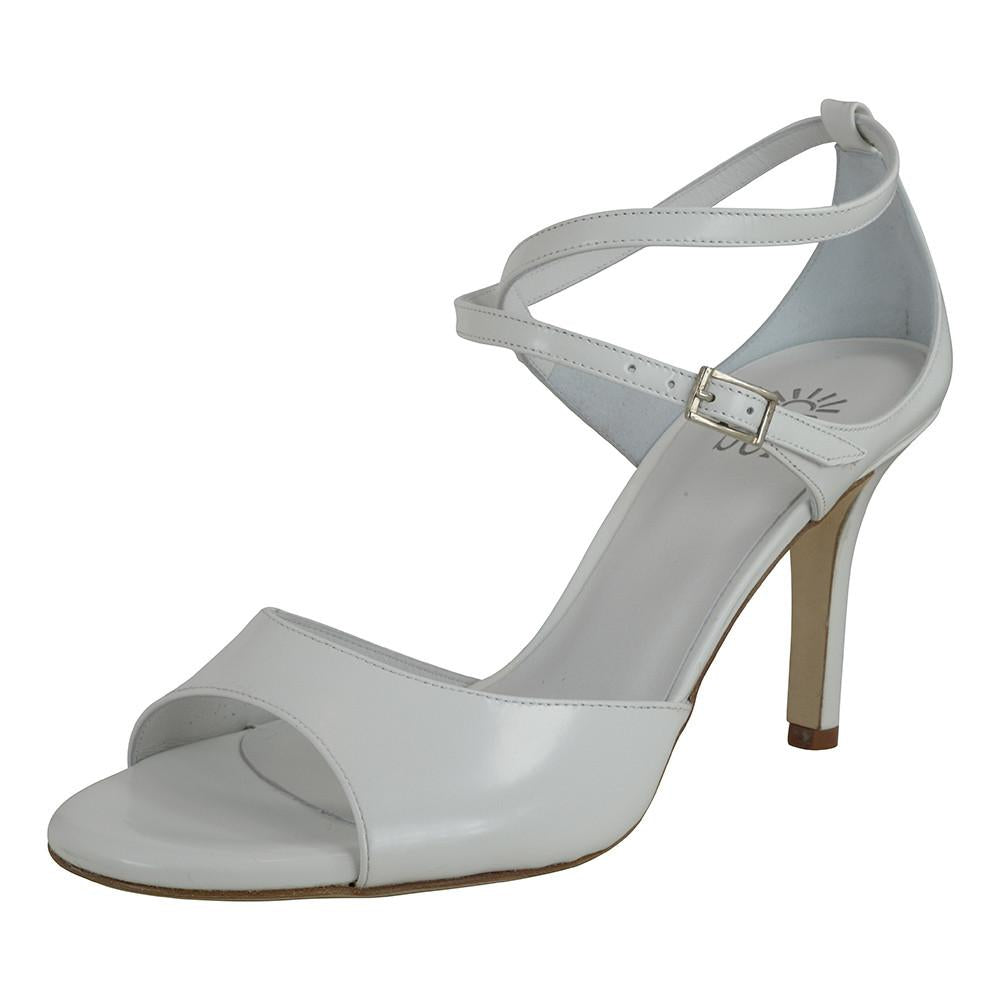 SUR - Anais Vernicetta Bianco 7cm heel (Regular to Narrow)