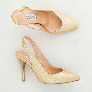 Comme il Faut Dance Shoes Exclusive - Rosas beige