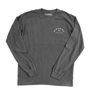 Charcoal Long Sleeve Tee