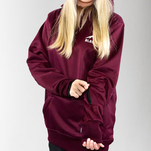 Riding Hood - Maroon