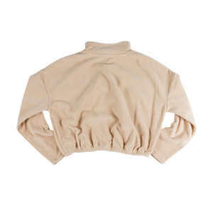 Cropped Fleece - Sand