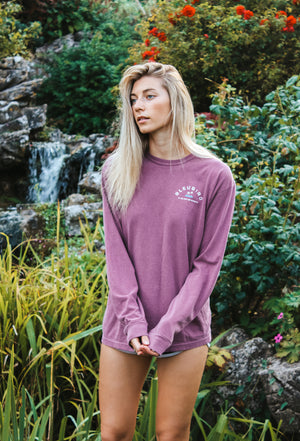 Berry Long Sleeve Tee