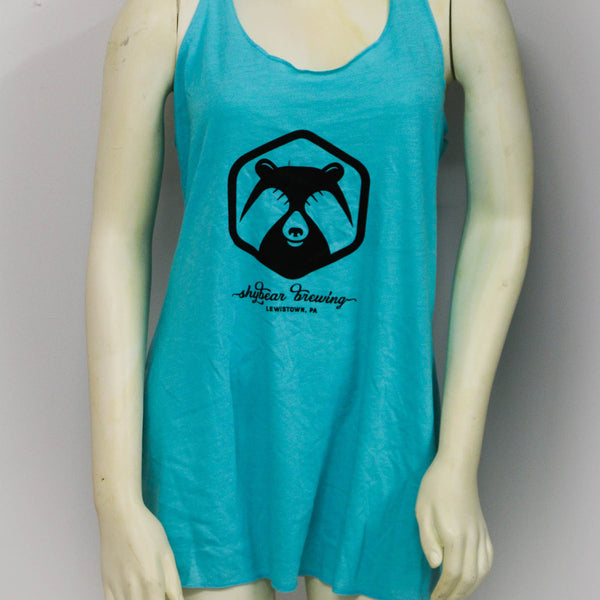 Next Level 6733 Racerback Tri-Blend Tank (tahiti blue)