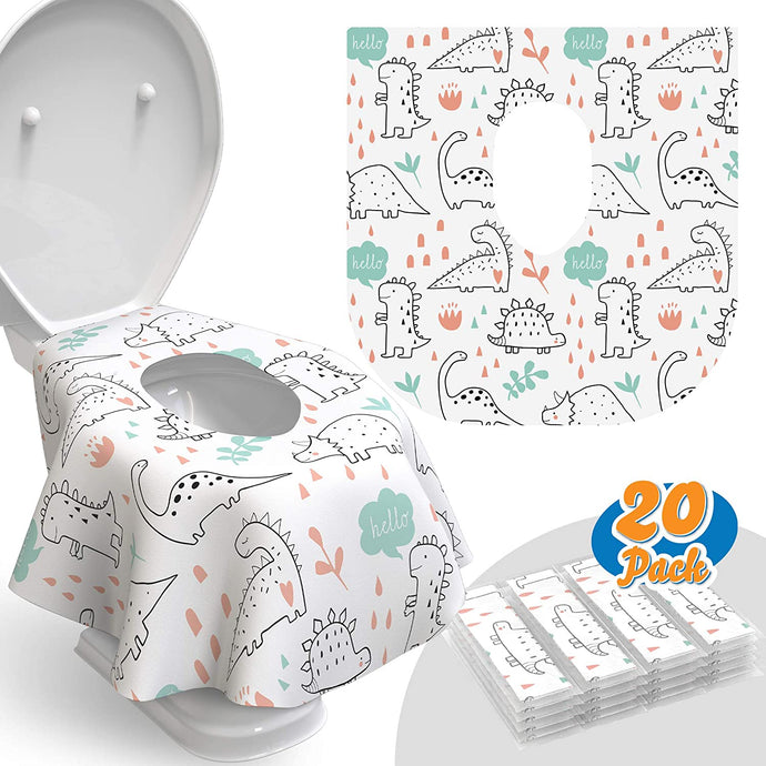 Disposable Toilet Seat Covers - 20ct