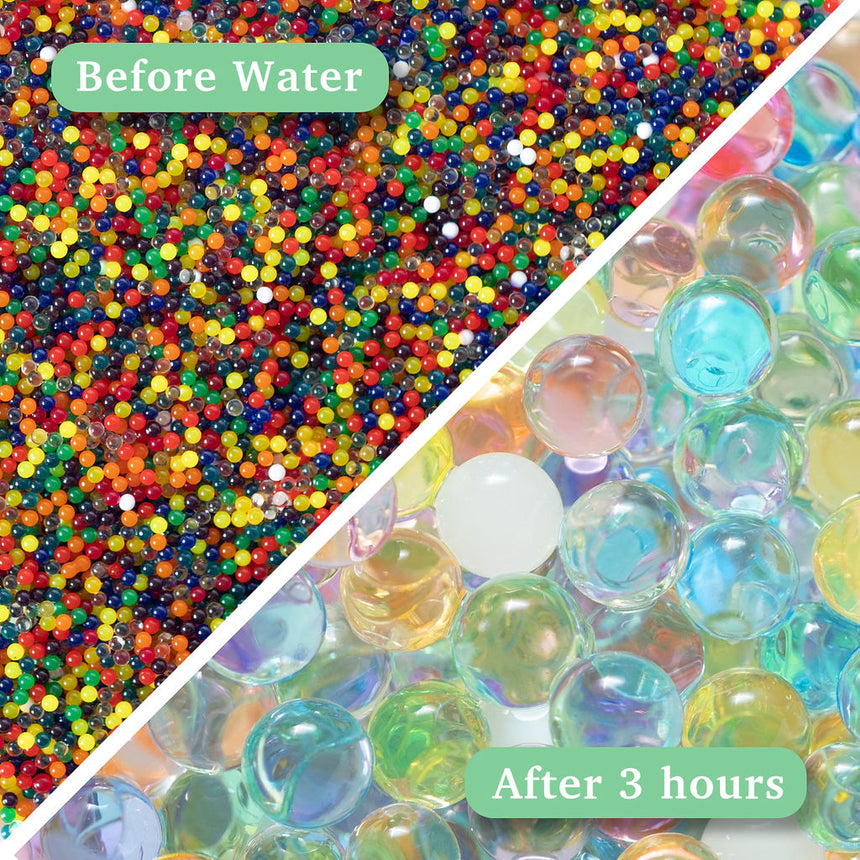 Sensory Water Beads - Rainbow - 16,000ct