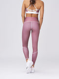 Flex Waist Tights Berry Chocolate
