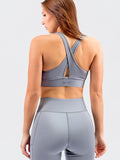 Elevate Mesh Bra Steel Grey
